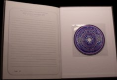 HardCover Last Page W/CD